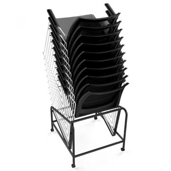 Rift Chair Trolley, Chairs Stacked