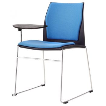 Rift Chair with Tablet Arm and Optional Upholstered Seat and Back Pads
