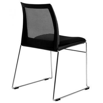 Rift Mesh Back Chair, Rear View