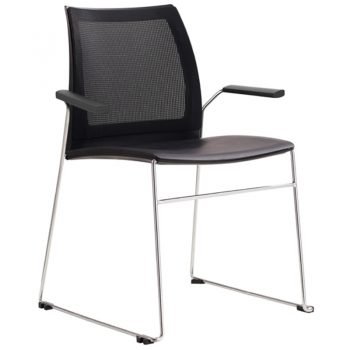 Rift Mesh Back Chair with Arms