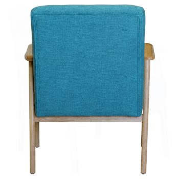 Daniela Arm Chair, Rear View