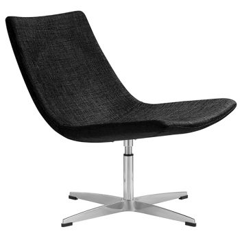 Black Reception Lounge office chair