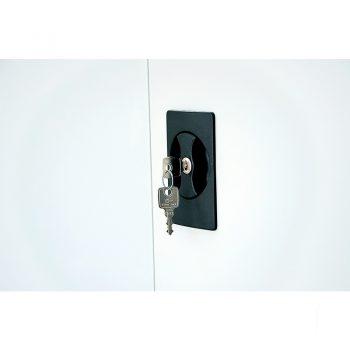 Super Heavy Duty Storage Cabinet Lock and 2 Keys Detail