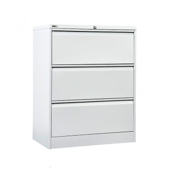 Super Heavy Duty Three Drawer Metal Lateral File Drawers