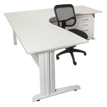 Corner desk and chair pack
