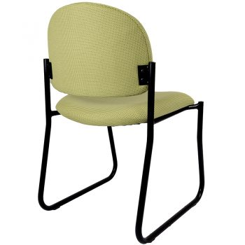 Alpha Visitor Chair, Rear View