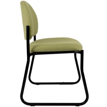 Alpha Visitor Chair, Side View