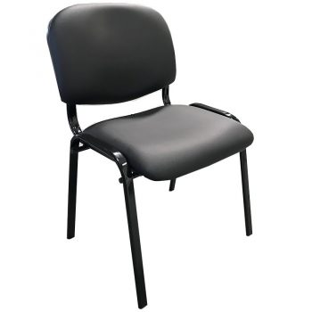 Apollo Black Office Visitor Chair