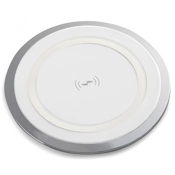 System Round Wireless Desk Top Charging Pad