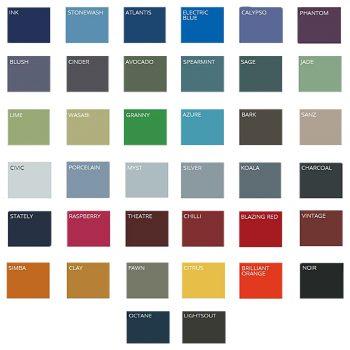 Velcro Compatible Pin Board Fabric Colour Range