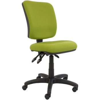 Uni High Back Chair, Lime Fabric Colour