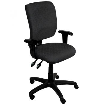 Uni High Back Chair with Arms