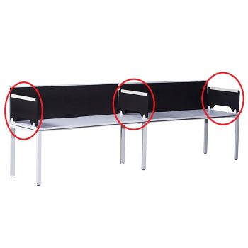 Optional Modular Desk Divider