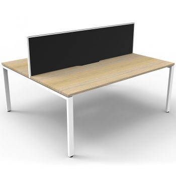 2 timber desks