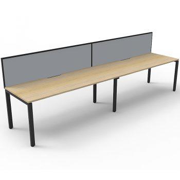 2 desks inline
