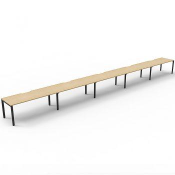 5 inline desks