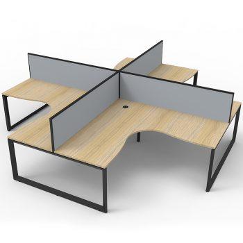 4 corner workstations