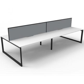 Four back toback anvil desks
