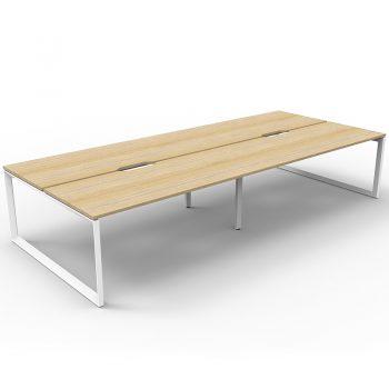 Oak desk pod no screens