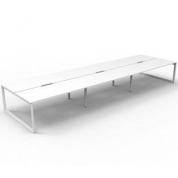 white desks back to back