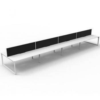 Eight desk pod