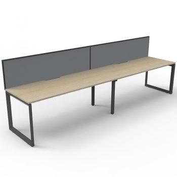 Anvil oak desk
