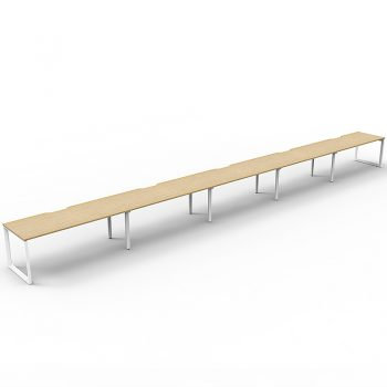 long timber desk