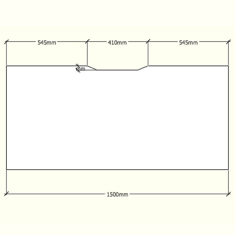 Office Furniture: Supreme Single Desk - 1 Person - 5 Year Warranty