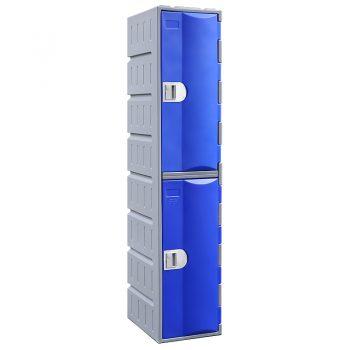 plastic school 2 door lockers
