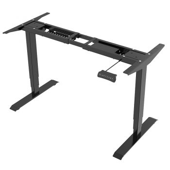 Electric desk frame