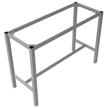 Silver high bar frame