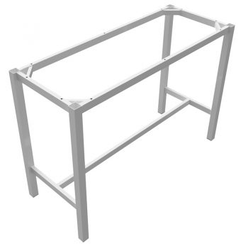 High bar table frame