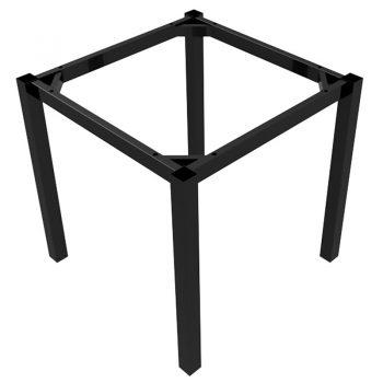 Black table frame