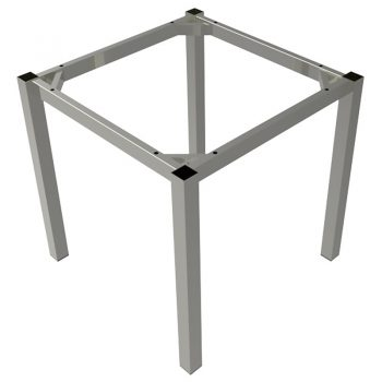 Silver table frame