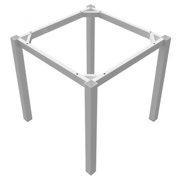 White table frame