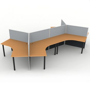 120 degree desks