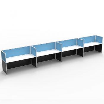 4 desk pod