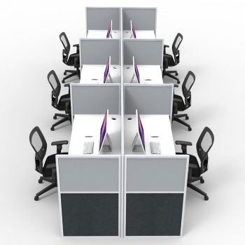 Pod of 8 desks