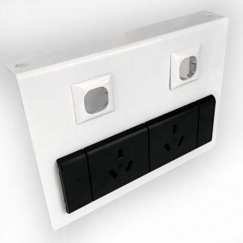 Under desk power unit