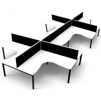 8 way desks