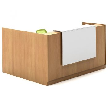 Beech Sorrento Reception Desk
