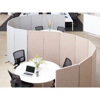Zip Screen Dividers, Office Example 2