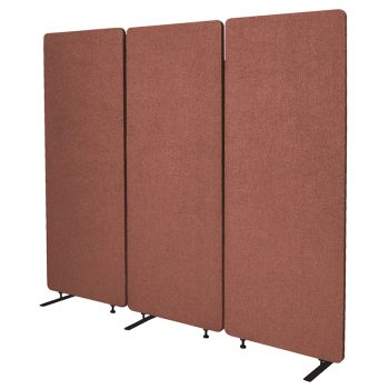 Zip Set of 3 Screen Dividers, Copper Colour
