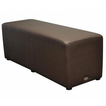 Long Brown Ottoman