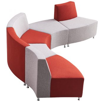 curved modular seating