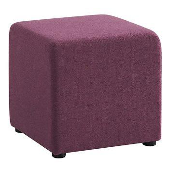 Play Cube Ottoman, Purple