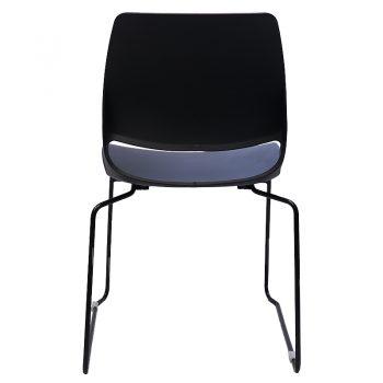 Jacob Chair, Black, Rear View
