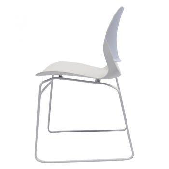 Small white chair