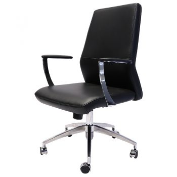 Liam Medium Back Chair, Front Angle View