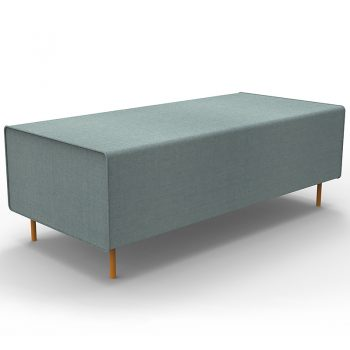 Lulu Ottoman, Light Blue Colour